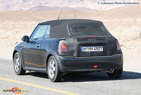 Mini Cooper Cabriolet al descubierto