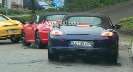 Facelift del Porsche Boxster y del Cayman, cazados