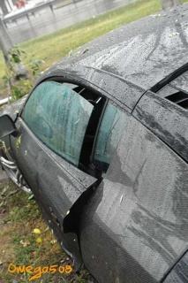 Accidente Audi R8