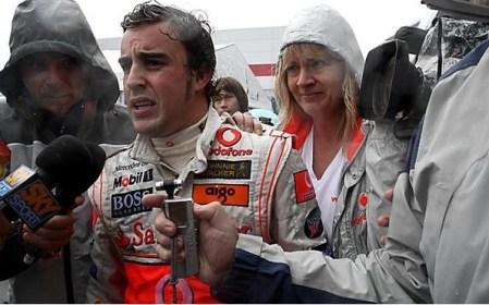 Alonso no va a tirar la toalla... pero asume que Hamilton lo tiene en la mano