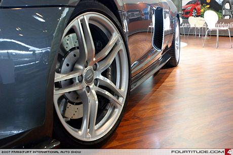 Audi R8 por MS Design