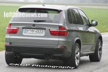 Supuesto BMW X5 M cazado