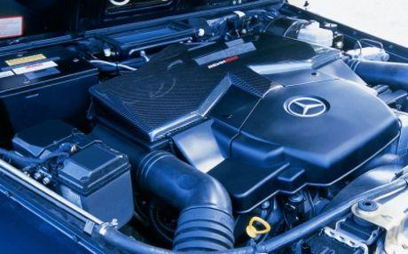 Mercedes G55 AMG por RENNtech