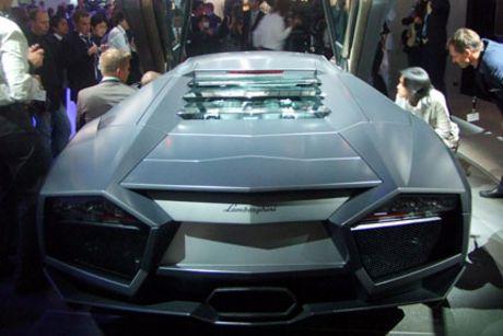 Primeras fotos en directo del Lamborghini Reventón