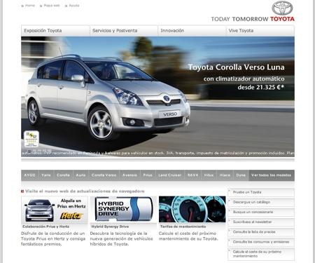 Web Toyota