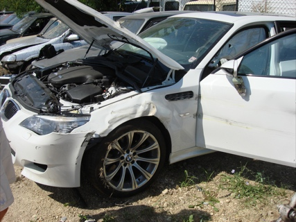 Accidente BMW M5 Touring
