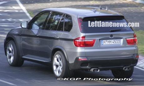 Más fotos espías del BMW X5 M, y esta vez con más especulaciones