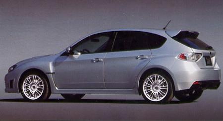 Subaru Impreza WRX STi, filtrado