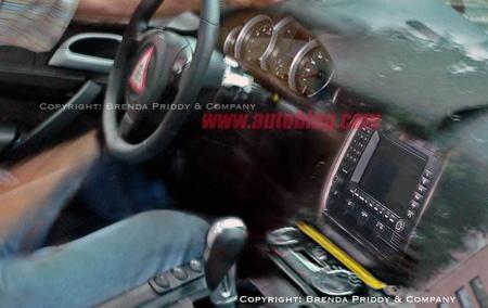 Fotos espía del interior del Porsche Panamera
