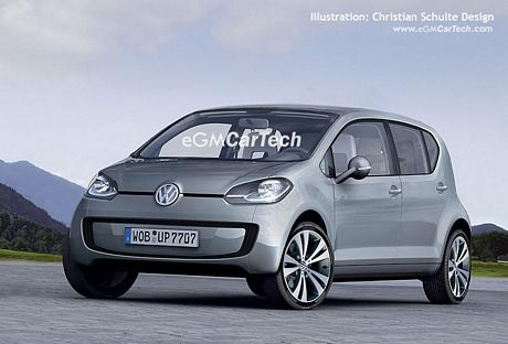 Recreaciones de las próximas versiones del Volkswagen Up!