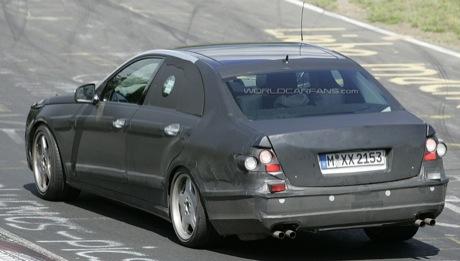 Fotos espías del Mercedes Clase E