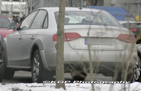 Nuevo Audi A4 Allroad, cazado