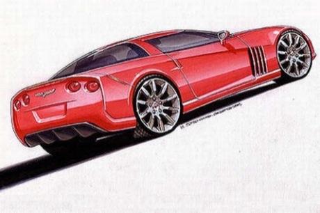 Nuevos bocetos del Corvette C7