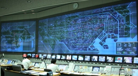 centro de control de tráfico de Tokio