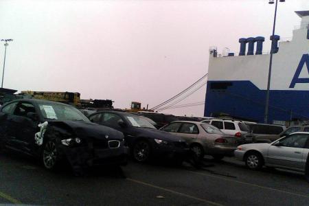 370 BMW heridos en un barco