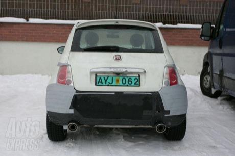 Fiat 500 Abarth, más fotos espía