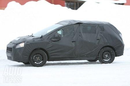 Fotos espía del Peugeot 308 SUV