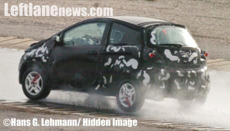 Fotos espía del próximo Ford Ka