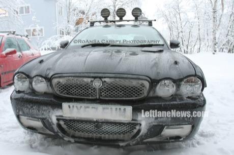 Cazada otra mula de pruebas del Jaguar XJ