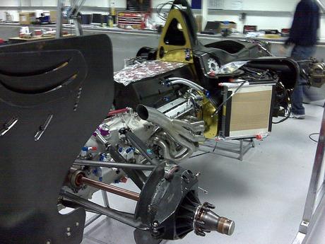El motor V12 de la Superleague Formula ya es una realidad
