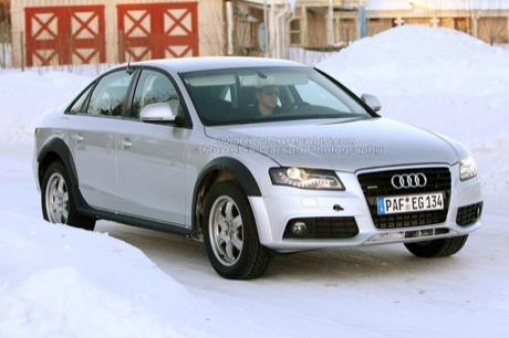 Más fotos espía del Audi A4 Allroad, ¿posible versión S4 Allroad?