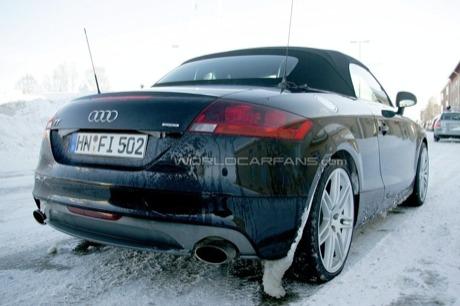 Cazado de nuevo: Audi TT-RS descapotable