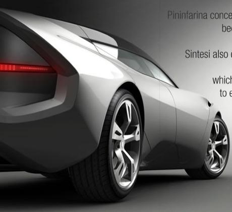 Imágenes oficiales del Pininfarina Sintesi