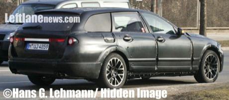 Nueva generación del BMW Serie 5 familiar y sedán, cazados