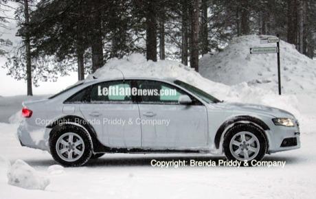 Más fotos espía del Audi A4 Allroad