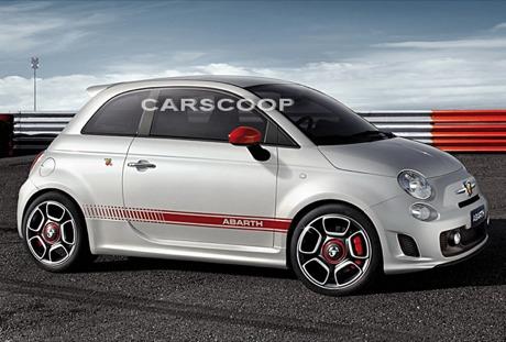 Fiat 500 Abarth, ¡imágenes oficiales reveladas!