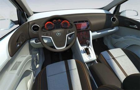 Opel Meriva Concept, fotos filtradas