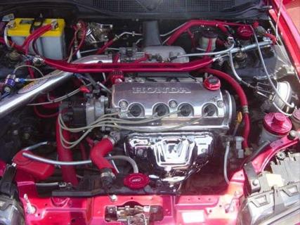 Réplica de un BMW Serie 3 E46 sobre un Honda Civic Coupé