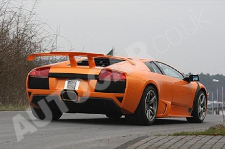 En el ajo: Lamborghini Murcielago SV