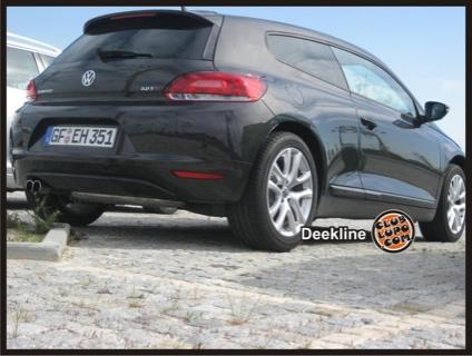 El Volkswagen Scirocco, también cazado