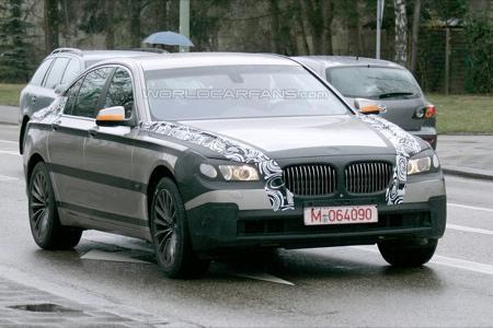 Más fotos espía del BMW Serie 7