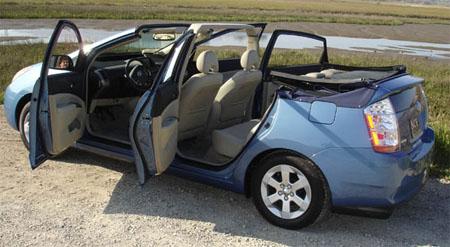 Toyota Prius descapotable, un invento un tanto raro