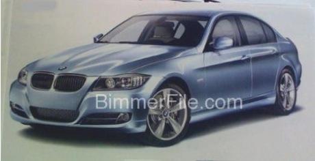 El lavado de cara del BMW Serie 3 berlina y touring, al descubierto