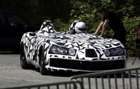 Mercedes SLR Speedster, fotos espía