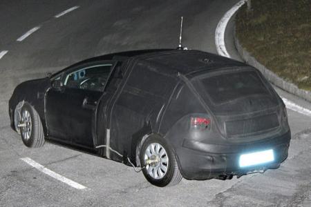 SEAT León restyling, fotos espía