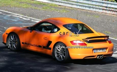 Nuevas fotos espía del Porsche Cayman RS, desde el 'Ring