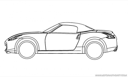 Nissan 370Z Roadster, filtrado