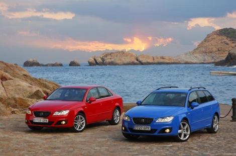 SEAT   realiza cambios en la gama del Exeo berlinas sedanes