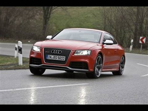 Audi RS5 driven by autocar.co.uk