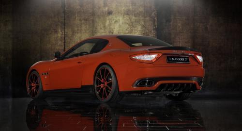 Maserati GranTurismo S por Mansory