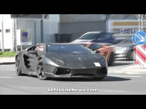 Lamborghini testing Jota at Nürburgring test track