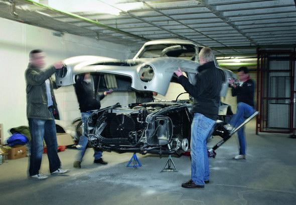 Medidas duras de Daimler contra las réplicas