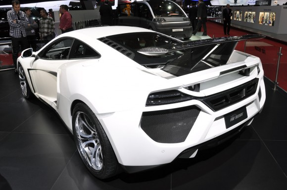 Ginebra 2012: FAB Design McLaren MP4-12C Terso