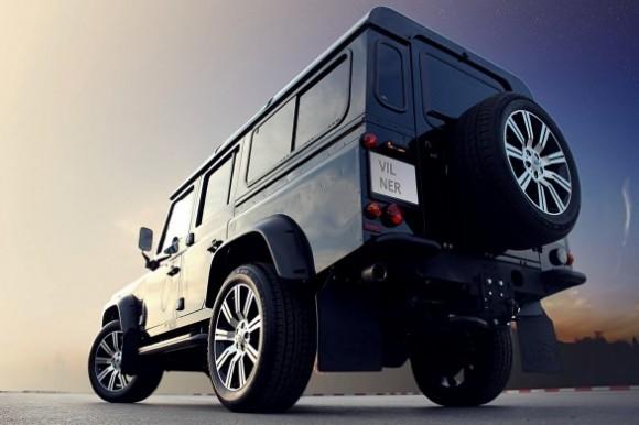 Vilner se atreve con el Land Rover Defender