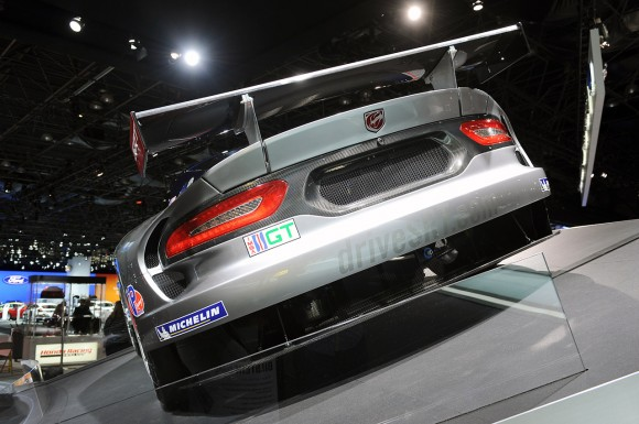 Nueva York 2012: SRT Viper GTS-R