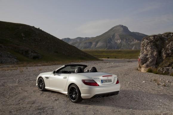 Mercedes SLK55 AMG, detalles y precios para España